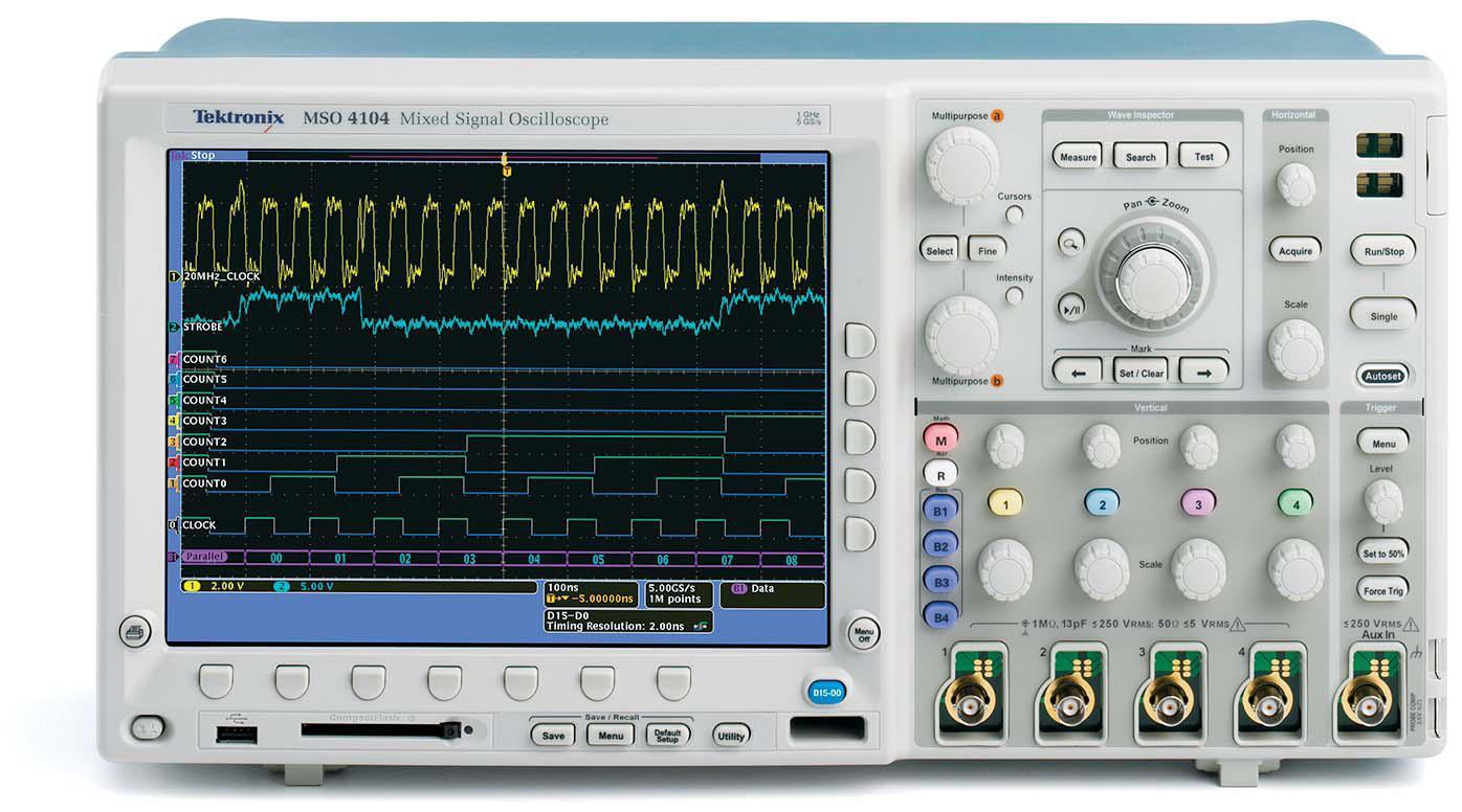 Using A Digital Oscilloscope : Infn padova laboratorio di elettronica